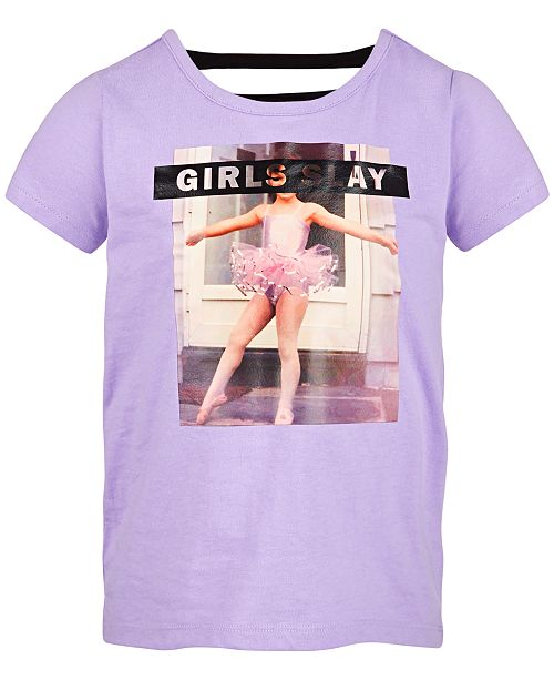 Ideology Toddler Girls Slay-Print T-Shirt, Created for Macy's
