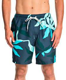 "Quiksilver Waterman Men's Gully Floral 18"" Volley Short"