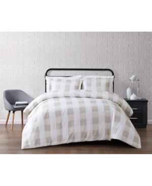 Truly Soft Everyday Buffalo Plaid Twin Xl Duvet Set Bedding