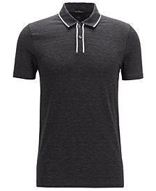 BOSS Men's Pryde Slim-Fit Cotton Polo Shirt