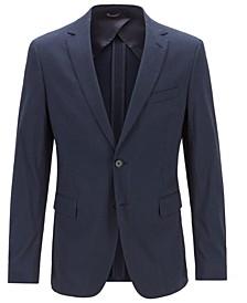 BOSS Men's Slim Fit Seersucker Jacket
