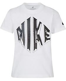 Nike Toddler Boys Logo-Print Cotton T-Shirt