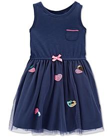 Toddler Girls Tulle Sundress
