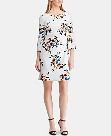 Lauren Ralph Lauren Floral-Print Bell-Sleeve Dress