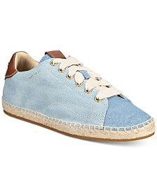 COACH 101 Espadrille Sneakers