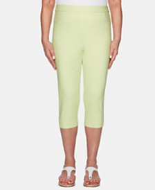 Alfred Dunner Endless Weekend Allure Cropped Pants