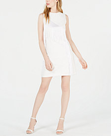 Laundry by Shelli Segal Fringe Sheath Dress