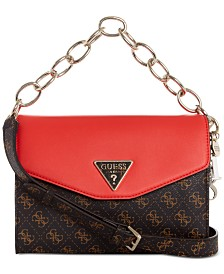 GUESS Maddy Signature Flap Crossbody