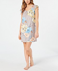 Flutter Sleeve Knit Nightgown, Created for Macy's