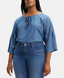 Levi's® Plus Size Denim Meadow Top