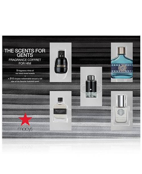Created For Macy's Men's 5-Pc. The Scents For Gents Fragrance Gift Set For Him