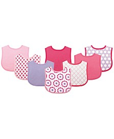 Luvable Friends Feeder Bibs, 8-Pack, One Size