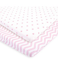 Fitted Playard Sheet, 2-Pack, One Size