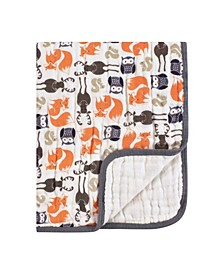Four Layer Muslin Tranquility Blanket, One Size