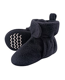 Boys and Girls Cozy Fleece Booties