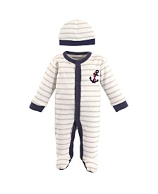 Luvable Friends Preemie Sleep N Play and Cap, Premie