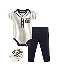 Bodysuits, Pants and Shoes, 3-Piece Set