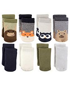 Basic Socks, 8-Pack, 0-24 Months