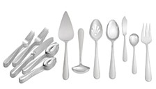 Infinity 27-PC Flatware Set,  Service for 4, Created for Macy's