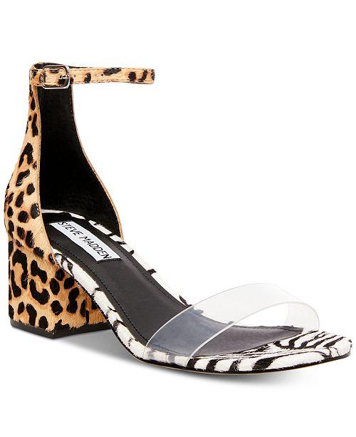 539896e1ff5 Steve Madden Women s Irenee Block-Heel Sandals   Reviews - Sandals ...