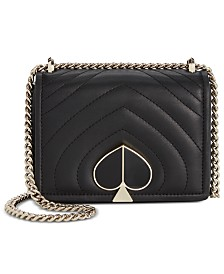 kate spade new york Amelia Quilted Mini Leather Shoulder Bag