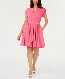 Charter Club Belted Dress, Created for Macy's
