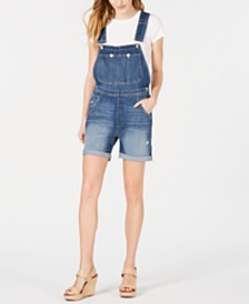 M1858 Mason Denim Overall Shorts