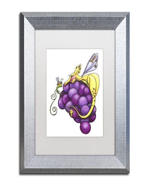 "Trademark Global Jennifer Nilsson Friendship is Sweet Matted Framed Art - 16"" x 20"" x 0.5"""