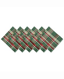 Plaid Napkin, Set of 6