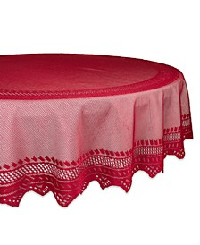 "Lace Tablecloth, 70"" Round"
