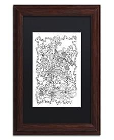"""Kathy G. Ahrens Butterflies Matted Framed Art - 11"""" x 11"""" x 0.5"""""""