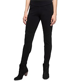 YALA Rory Organic Cotton and Viscose from Bamboo Pull-on Moto Pant