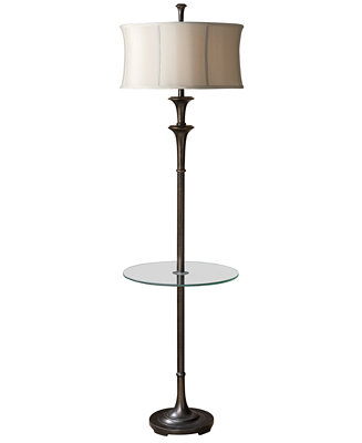Uttermost Brazoria Floor Lamp With Tray Table Amp Reviews All Lighting Home Decor Macy S