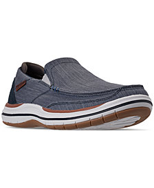 Skechers Men's Elson - Amster Slip-On Casual Sneakers from Finish Line
