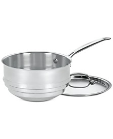 Cuisinart® Chef's Classic™ Stainless Steel 20cm Universal Double Boiler