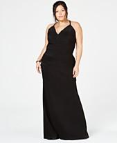 f000339320a Emerald Sundae Trendy Plus Size Lace Racerback Gown