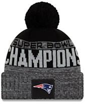 2e1022b3cfb00a New Era New England Patriots Super Bowl LIII Champ Parade Pom Knit Hat