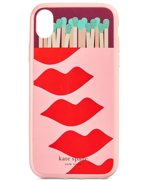 kate spade new york Matches And Lips iPhone XR Case