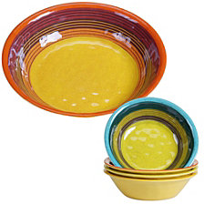 Certified International Sedona 5-Pc. Salad and Serving Set