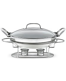 "Cuisinart Stainless Steel 11"" Round Buffet Server"