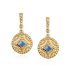 Capwell & Co. Coin Drop Earring