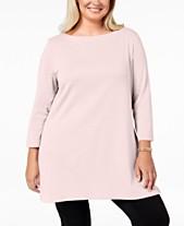 069a50eec3e2d Plus Size Tunic Tops  Shop Plus Size Tunic Tops - Macy s