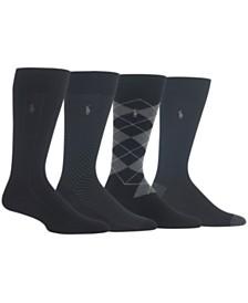 Polo Ralph Lauren Men's 4-Pk. Dress Socks