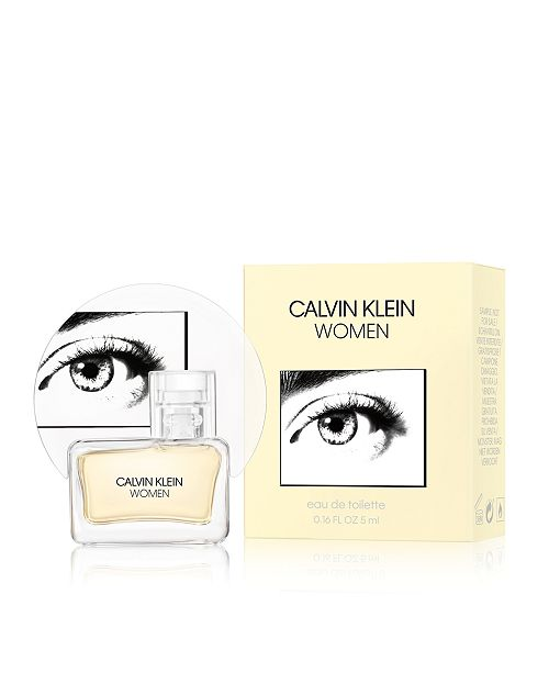 Calvin Klein Receive a Complimentary Calvin Klein Women Eau de Toilette Spray Mini with any large spray purchase from the Calvin Klein Women fragrance collection