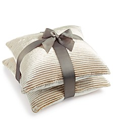"2-Pk. Tiffany 20"" x 20"" Decorative Pillows"