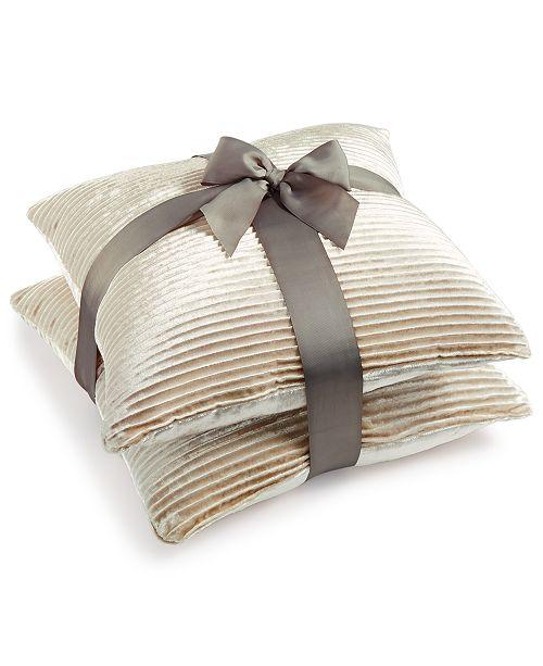 "Lacourte CLOSEOUT!  2-Pk. Tiffany 20"" x 20"" Decorative Pillows"