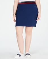 cce8c2d153a21 Tommy Hilfiger Sport Plus Size Pencil Skirt