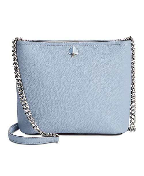 kate spade new york Polly Pebble Leather Chain Crossbody