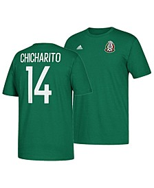 Men's Chicharito Mexico National Team Jersey Hook Player T-Shirt
