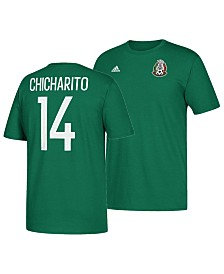 adidas Men's Chicharito Mexico National Team Jersey Hook Player T-Shirt